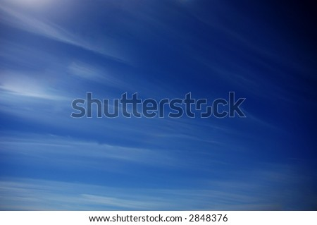 blue sky with clouds texture