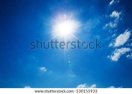 blue sky with copy space - Shutterstock ID 530155933