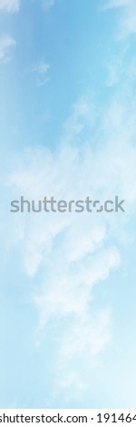 Blue Sky with white cloud and clear abstract. Beautiful air sunlight with clound scape colorful. Blackdrop for wallpaper backdrop background.