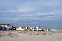 Blue skys and beach houses, Avalon, New Jersey