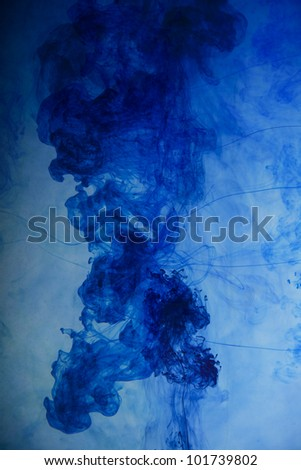 blue smoke, abstract background image