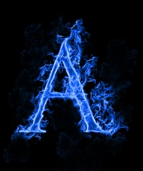 Blue smoke letter