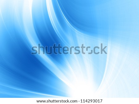 Blue soft abstract background; suitable for abstract brochures and flyers background design