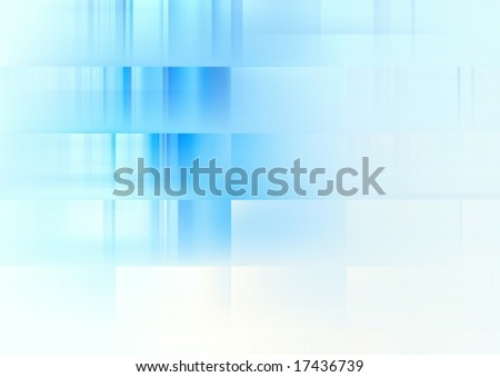 Blue soft background for design artworks, business cards - stock photo