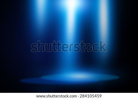 Blue stage background #284105459
