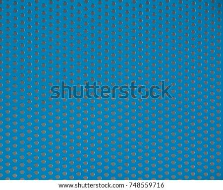 Blue Steel mesh screen background , texture. #748559716