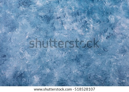 Blue stone background with high resolution. Top view. Copy space