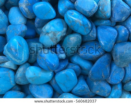 Blue Stones Background