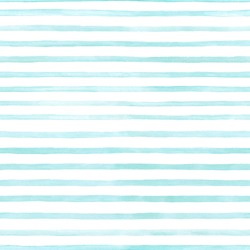 blue stripes on white background watercolor painting