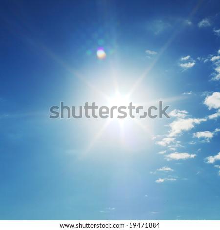 blue sunny sky - Shutterstock ID 59471884