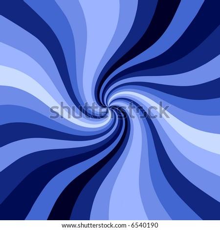 Blue swirl pattern background.