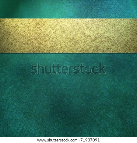 blue teal or aquamarine colored background or cover with grunge texture, soft faded lighting, design layout stripe, and copy space to add your own text, title, or image