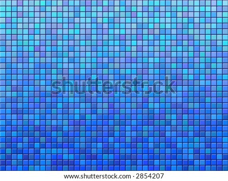 blue tile background pattern