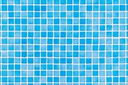 Blue tiles mosaic