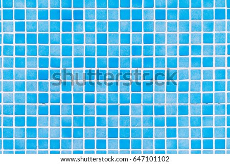 Blue tiles mosaic #647101102