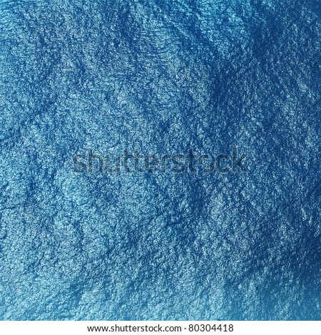 Blue tropical sea surface with waves and ripples. View from plane (approx 500m)