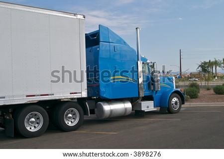 Blue Truck #3898276