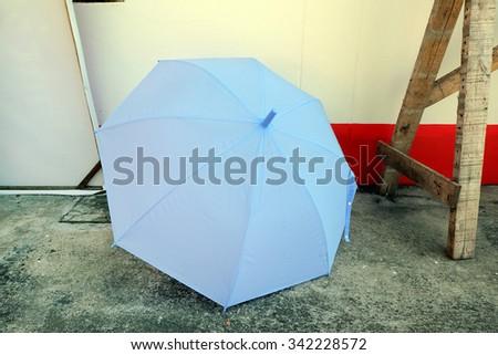 Blue umbrella #342228572