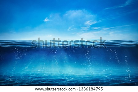 BLUE UNDER WATER - Image