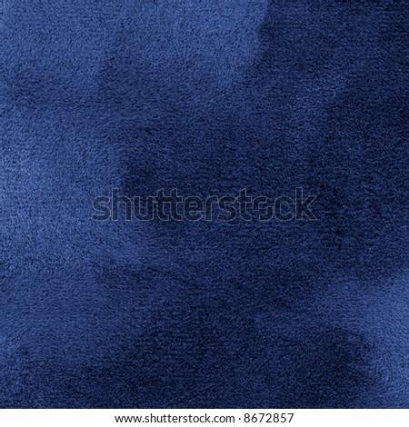 Blue velvet like texture detail background