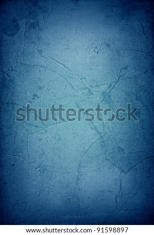 Blue vintage paper texture or background