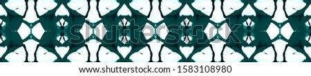 Blue Vintage Seamless Background. Ornamental Geometry. Ornamental Geometry. Black Indigo Embroidery print Antique Element Luxury Kaleidoscope Pattern Floral Elements Floral Elements