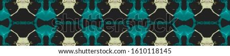 Blue Vintage Seamless Background. Ornamental Geometry. Ornamental Geometry. Black Indigo Oriental style. Old fashion Design. Blue Kaleidoscope Art. Floral Pattern. Floral Elements