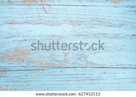 Blue Vintage Wood Textured Background 627452513