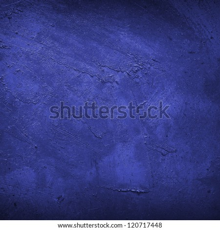 blue wall closeup