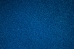 Blue wall vignette texture abstract background.