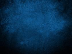 Blue wall vignette texture abstract background, dark background, blue backgrounds, abstract backgrounds, concrete texture
