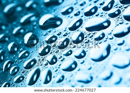Blue Studio Backgrounds Blue Water Drops Background