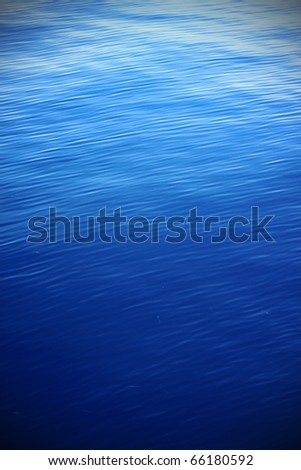 Blue Water Rippter Texture with Vignette