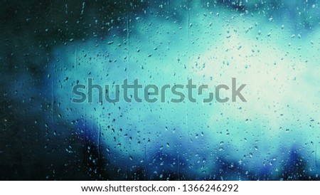Blue Water Sky Background #1366246292