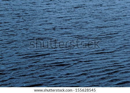 blue water surface on the wind #155628545