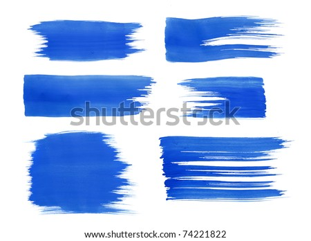 blue watercolor paint texture for text