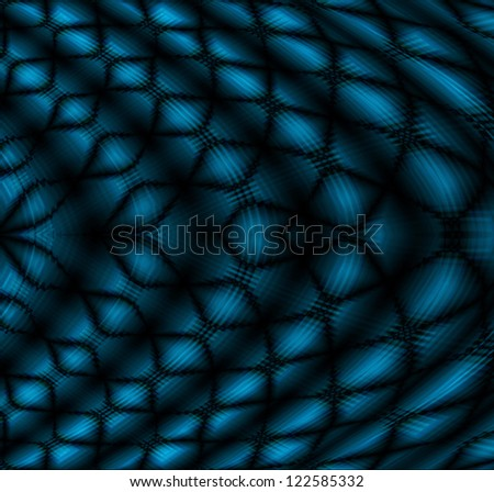 blue wave line abstract background