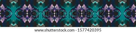 Blue Wedding vintage lace seamless. Ornamental Geometry. Ethnic Ornament Print. Black Blue Tile Dressing element Antique Element Bright Kaleidoscope Art. Floral Elements Floral Design.