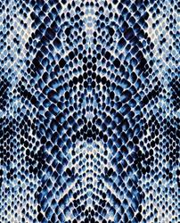 Blue / white / black snake skin texture background