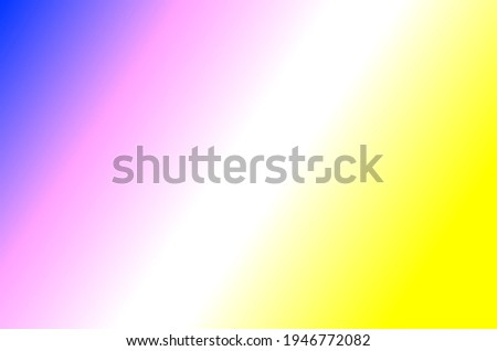 blue white yellow gradient background, easy gradient color textured background Stock fotó ©