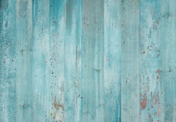 Blue wood background. Grunge texture