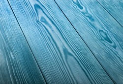 Blue wood texture close up