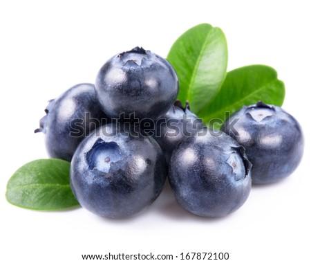 blueberries isolated  Photo stock ©