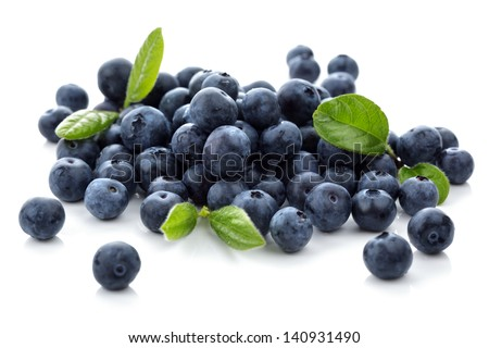 Shutterstock Blueberry antioxidant superfood isolated on white