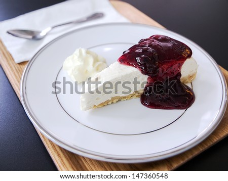 Blueberry Cheese Pie