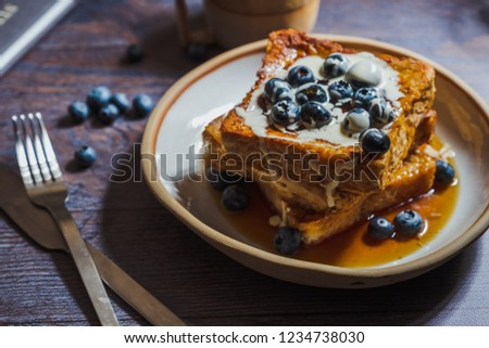 Blueberry French Toast, breakfast