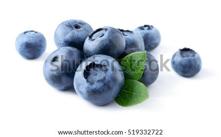 blueberry. fresh berries with...