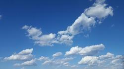 Bluesky cloud air