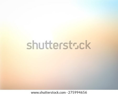 Blur Abstract Texture Trendy Business White Blue Yellow Orange Sun Glow Zen Relax Fresh Bless Bright Ocean Season Calm Joy Paradise Soft Morning Horizon Heaven Amazing Grace Green Scene Spring concept #275994656