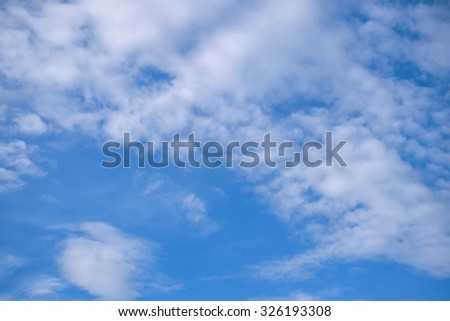 blur background and sky and clouds and nature and soft background